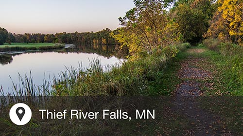 Thief River Falls (TVF) to Minneapolis (MSP)
