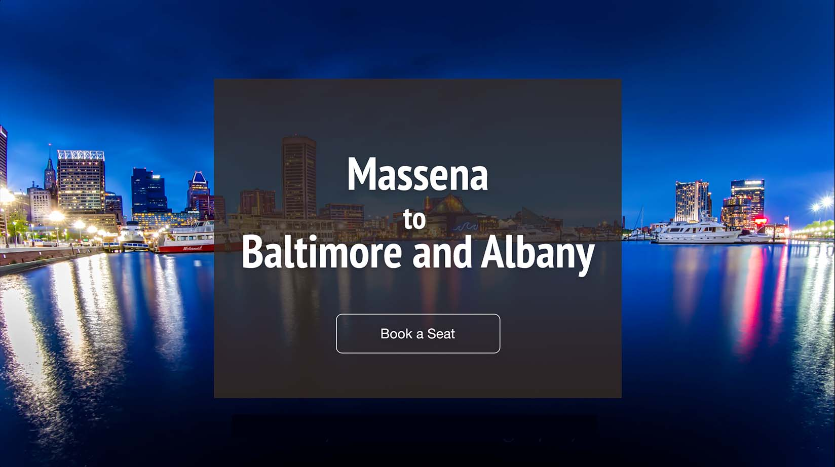 Massena (MSS) to Baltimore (BWI)